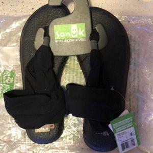 Sanuk Yoga Sling 2 Black Sandal